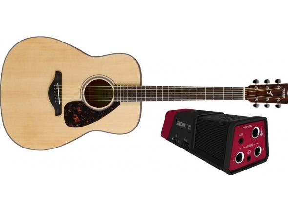 Guitarra Acústica Yamaha FG800M Singer Songwriter Pack