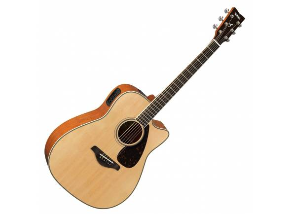 Guitarras Dreadnought Yamaha FGX820C NT