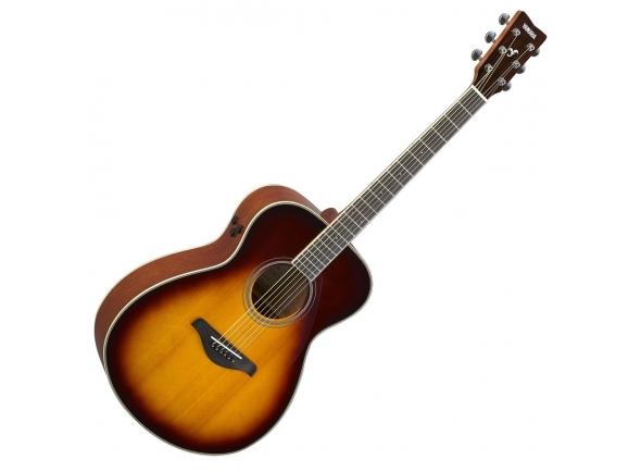 Outras guitarras acústicas Yamaha FS-TA Brown Sunburst TransAcoustic