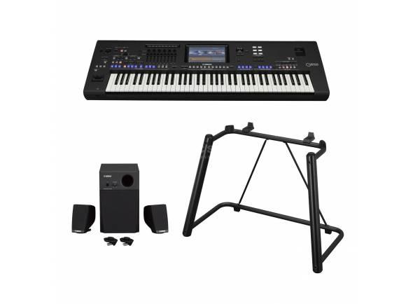 Teclado profissional/Workstations Yamaha Genos XXL Set