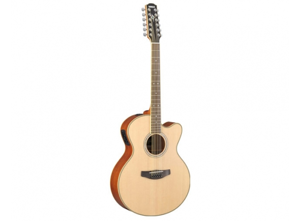 Guitarras Folk Yamaha Guitarra Eletroacústica 12 cordas  CPX700II-12 Natural