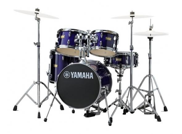 Conjuntos de bateria com ferragens sem pratos Yamaha Junior Kit Manu Katché Violet