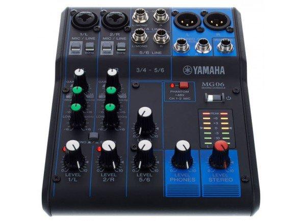Mesa de Mistura Analógica/Mesa de Mistura Analógica Yamaha MG-06