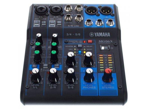 Mesa de Mistura Analógica/Mesa de Mistura Analógica Yamaha MG-06X