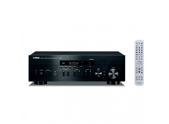 B-stock Receptores stéreo em rede/Receptores de Áudio / Vídeo Yamaha MusicCast RN-402D BK B-Stock