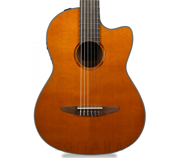 Guitarras clássicas eletrificadas Yamaha NCX1C NAT