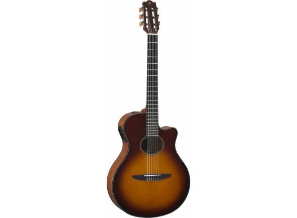 Guitarra Acústica eletrificada 4/4/Guitarras clássicas eletrificadas Yamaha NTX500 Brown Sunburst
