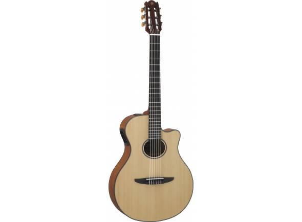 Guitarras clássicas eletrificadas Yamaha NTX500 Natural