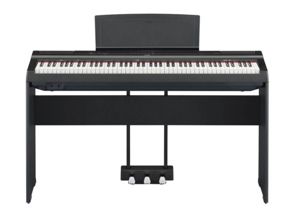 Pianos Digitais de Móvel Yamaha P-125 BK Home Bundle