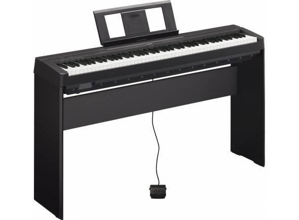 Piano Digital Yamaha P-45 B Home Bundle