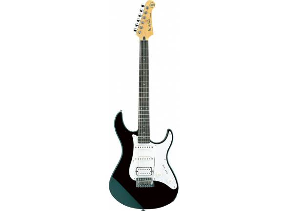 Yamaha Pacifica 112J BL  As guitarras YAMAHA são conhecidas pelo grande timbre e facilidade de execução. A série Pacifica tem corpos confortáveis, braços bolt-on, vibratos estilo vintage e switchs de 5 posições/combinações de pickups para um som ecléctico.