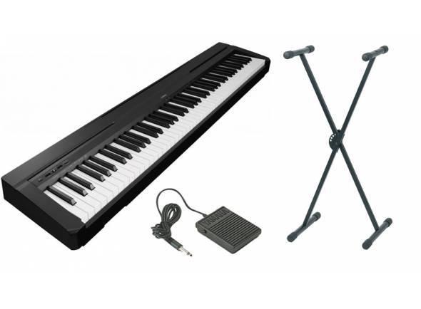 Pianos Digitais Portáteis  Yamaha P-45 B Stand Bundle