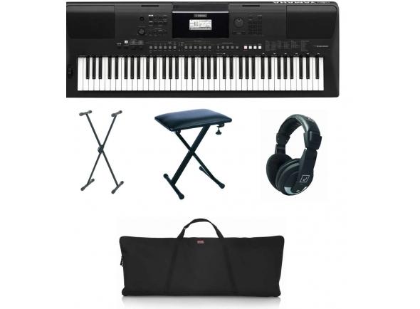 Teclados Yamaha PSR-EW410 Deluxe Bundle