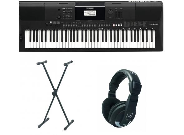 Teclados Yamaha PSR-EW410 Set