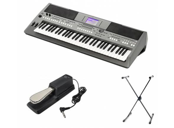 Ver mais informações do Teclado Yamaha PSR-S670 Set