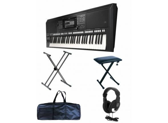Ver mais informações do  Yamaha PSR-S775 Deluxe Bundle