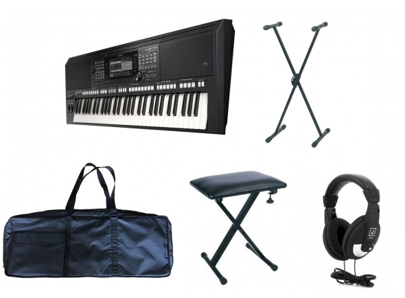 Ver mais informações do  Yamaha PSR-S775 Deluxe Set