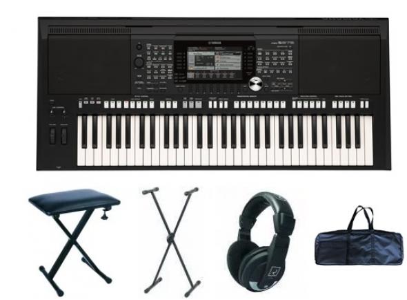 Ver mais informações do  Yamaha PSR-S975 Deluxe Bundle