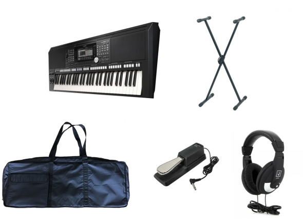 Ver mais informações do  Yamaha PSR-S975 Deluxe Set
