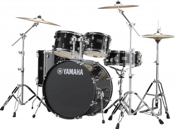 Conjunto de Bateria/Conjunto de bateria completo Yamaha Rydeen Standard Black Glitter 22