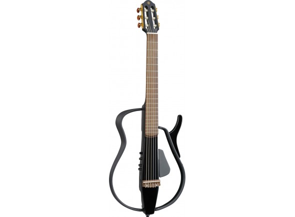 Guitarras clássicas eletrificadas Yamaha SLG110NBMH Silent Black Metallic   Cor: Black  Profundidade: 49 cm  Escala: 650