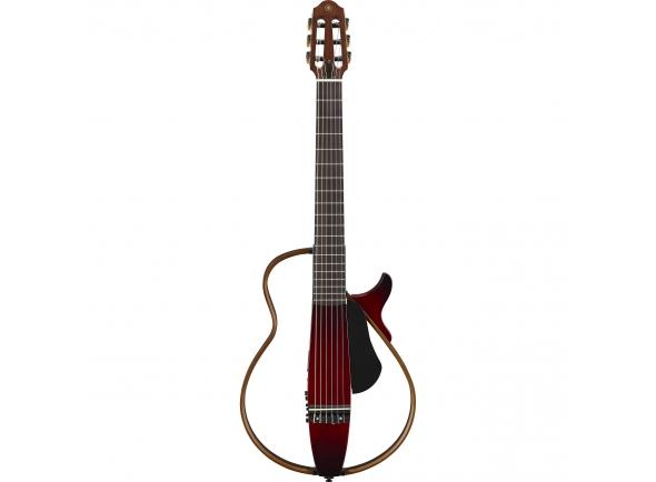 Guitarras clássicas eletrificadas Yamaha SLG200N CRB