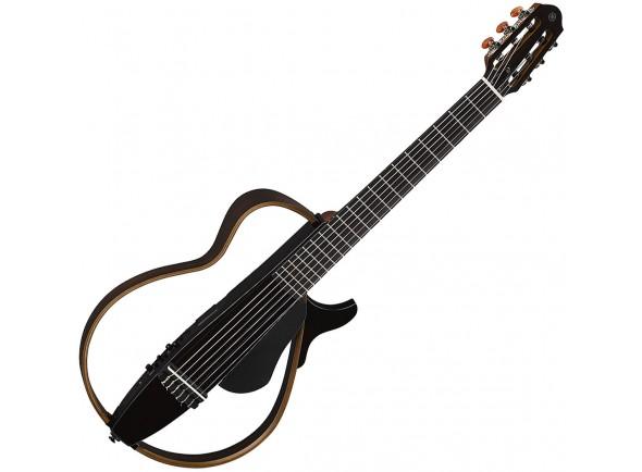 Guitarras clássicas eletrificadas Yamaha SLG200N TBK