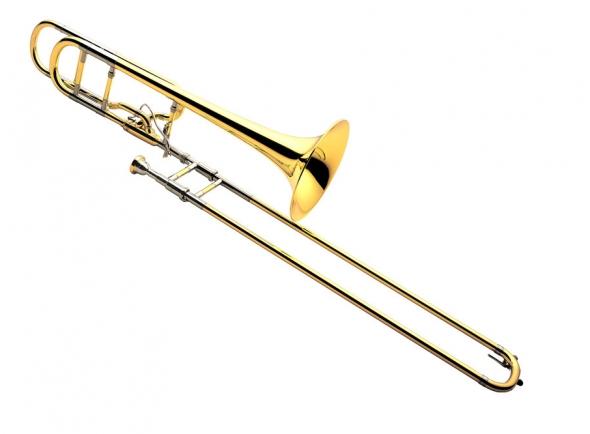 Trombone Yamaha Trombone  YSL882 XENO Dourado