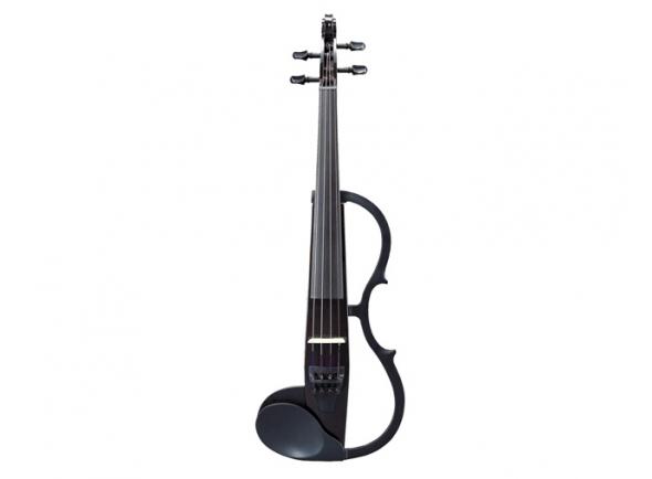 Violinos e violas eléctricas Yamaha Violino  SV130BL Silent Preto