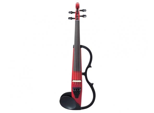 Violinos e violas eléctricas Yamaha Violino  SV130CAR Silent Vermelho
