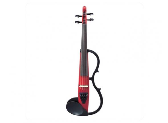 Violinos e violas eléctricas Yamaha Violino  SV130SCAR Silent Vermelho