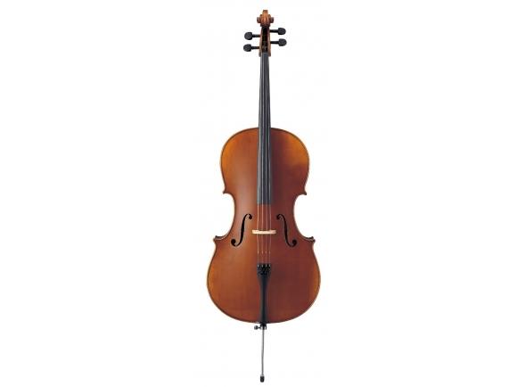 Violoncelo Yamaha Violoncelo  VC7 4/4 com Saco e Arco