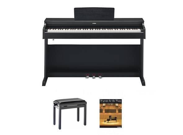 Ver mais informações do Piano Digital Yamaha YDP 163B Pack