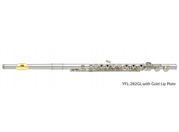 Flauta transversal (pratos abertos) Yamaha YFL-282GL Flute