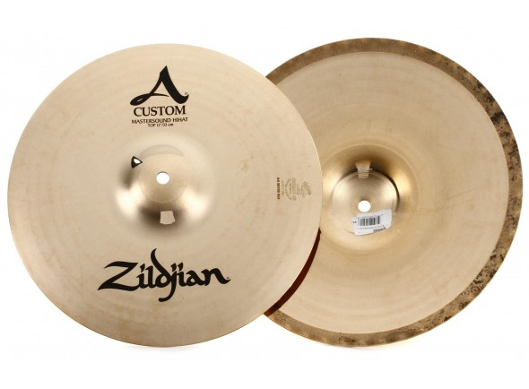 Pratos de choque Zildjian 13 A Custom Mastersound Hi-hat