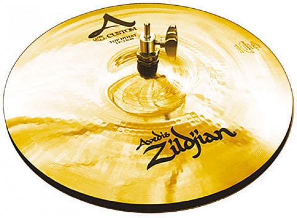 Pratos de choque Zildjian A20507 A-Custom Hi-Hat 13 B-Stock