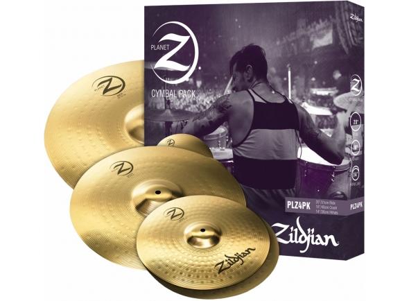 Pratos Zildjian Conjunto Pratos Planet Z Z4 14 16 20 PLZ4PK