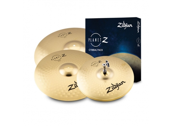 Conjunto de Pratos Zildjian Planet Z Complete Pack Cymbal Set