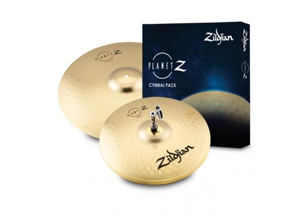 Conjunto de Pratos Zildjian Planet Z Fundamentals Pack