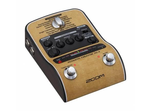 Efeitos para guitarra acústica Zoom AC-2