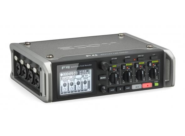 Gravadores Portáteis Zoom F4 Multitrack Fieldrecorder