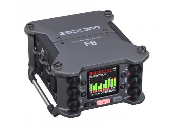Gravadores Portáteis Zoom F6