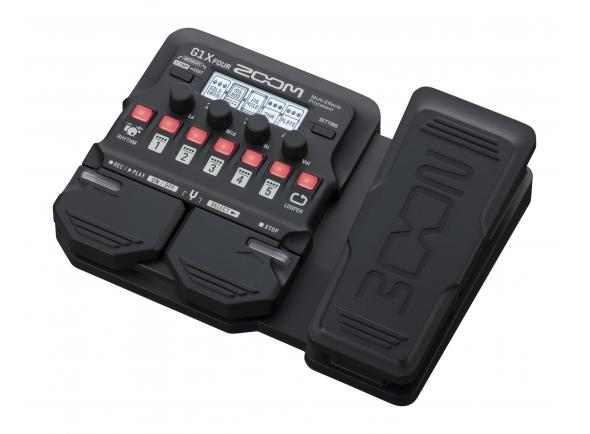 Pedaleiras para guitarra elétrica Zoom G1X Four Multi Effect-Pedal