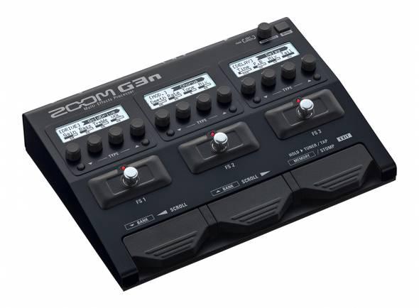 Pedaleiras para guitarra elétrica Zoom G3n