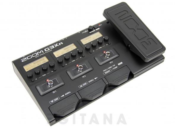 Pedaleiras para guitarra elétrica Zoom G3Xn