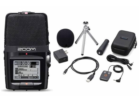 Gravadores Digitais Zoom H2n APH-2n Bundle