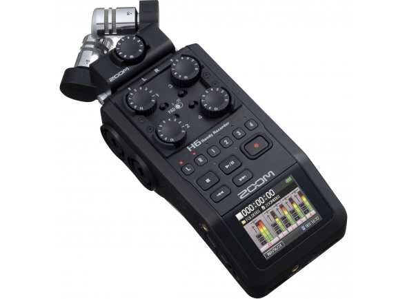 Gravador portátil/Gravadores Portáteis Zoom H6 Black