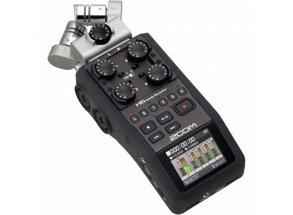 Gravadores Digitais Zoom H6