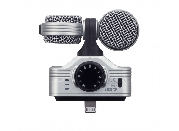 Microfones especiais Zoom iQ7