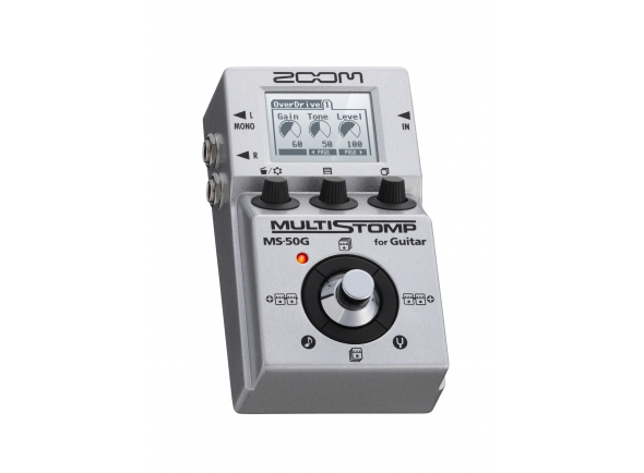Pedaleiras para guitarra elétrica Zoom Multi Stomp MS-50G